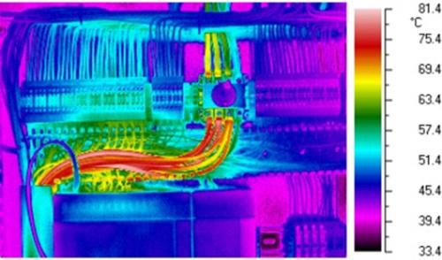 Misurazione termografia